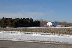 A Farm Lanscape Stock Photo
