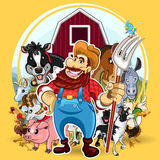 Farm Life Stock Image
