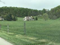 Farm Living. A farm in Pennsylvania Stock Image