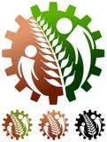 Farm logo stock illustration