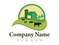 Farm logo 2 Royalty Free Stock Photos
