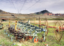 Farm machinery Stock Photos