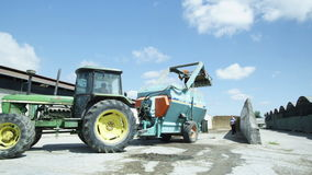 Farm machinery stock video