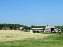 Farm In Maryland Royalty Free Stock Photography