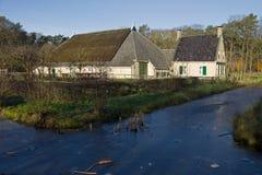 Farm Midlum in Dutch Open Air Museum in Arnhem Stock Image