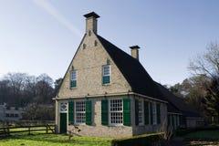 Farm Midlum in Dutch Open Air Museum in Arnhem Royalty Free Stock Images