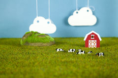 Farm modelo Foto de archivo