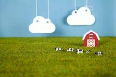 Farm modelo Fotografía de archivo