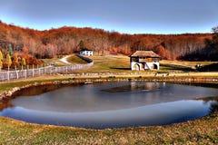 Farm monastery Kaona Stock Image