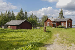 Farm museum. In eastern Finland stock image