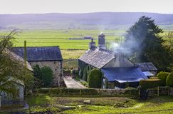 Farm in Northern England Stock Images