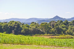 Farm in Nova Petropolis - Rio Grande do Sul - Brazil Royalty Free Stock Images