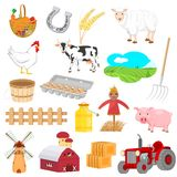 Farm Objects Royalty Free Stock Images