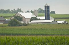 Farm in PA Stock Image