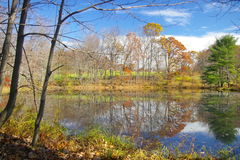 Farm Pond. S can be found throughout Pennsylvania royalty free stock images