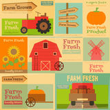 Farm Posters Stock Photos
