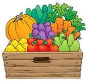 Farm products theme image 1 vector illustration