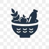 Farm Products vector icon isolated on transparent background, Fa vector illustration
