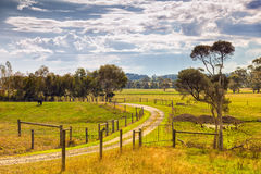 Farm property in Australia Royalty Free Stock Image