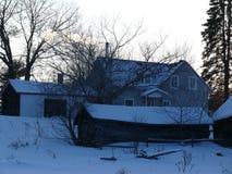 Farm in Quebec. Canada, north America. Farm in Quebec. Canada north America royalty free stock photo