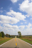 Farm roads stock photography