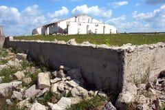Farm ruins Stock Photography