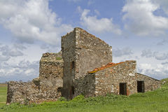 Farm Ruins in Lazio Royalty Free Stock Images