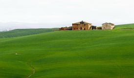 Farm ruins in tuscany Stock Photo