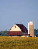 Farm in rural america Royalty Free Stock Photo