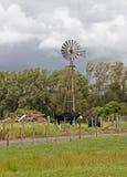 Farm scene Royalty Free Stock Photo