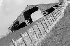 Farm scene. Abstract British Farm scene Dorset England Royalty Free Stock Image