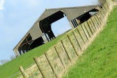 Farm scene. Abstract British Farm scene Dorset England Royalty Free Stock Images