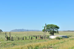 Farm scene south of Springfontein Royalty Free Stock Photography