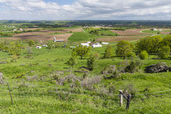 Farm Scenic Vista Royalty Free Stock Photo