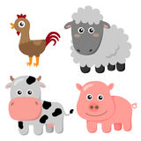 Farm sets Royalty Free Stock Image