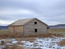 Farm Shed Stock Photo
