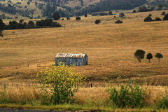 A farm shed  in rural farm Royalty Free Stock Photography