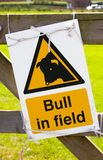 Farm Sign Royalty Free Stock Photography