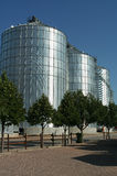 Farm Silos Stock Photography
