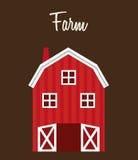 Farm stable Stock Photo