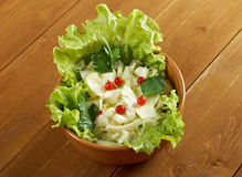 Farm-style salad of cabbage Royalty Free Stock Image