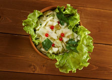 Farm-style salad of cabbage Stock Photography