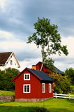 Farm in the swedish countryside Stock Image
