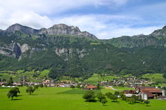 Farm in Switzerland Stock Image