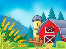 Farm theme image 9 Stock Image