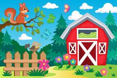 Farm topic background 2 Royalty Free Stock Photo