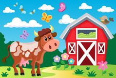 Farm topic image 2 Royalty Free Stock Images