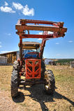 Farm tractor. Royalty Free Stock Photo