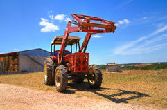 Farm tractor. Stock Images