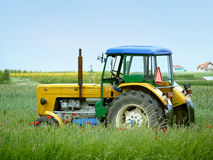 Farm tractor Royalty Free Stock Images